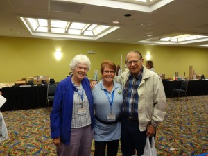 Bracha with Vern and Gleda Estes