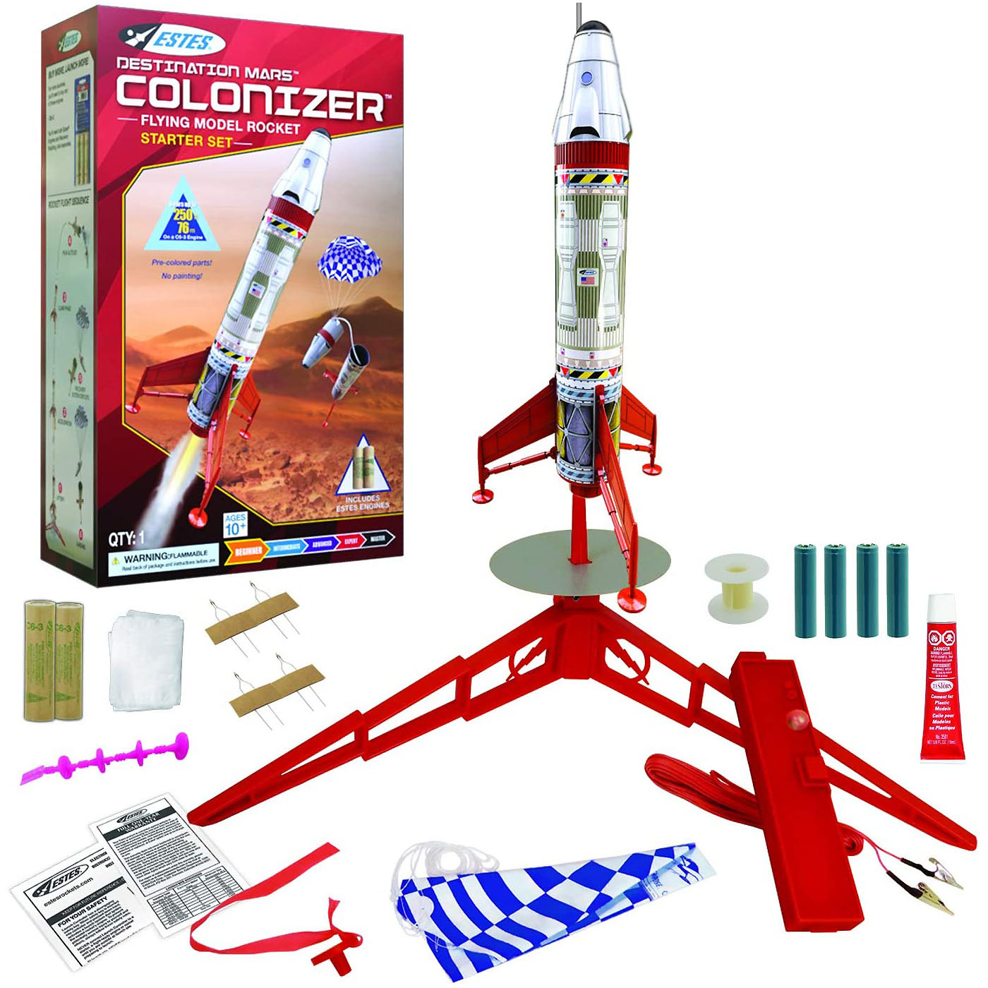 Model Rocket Launch Sets